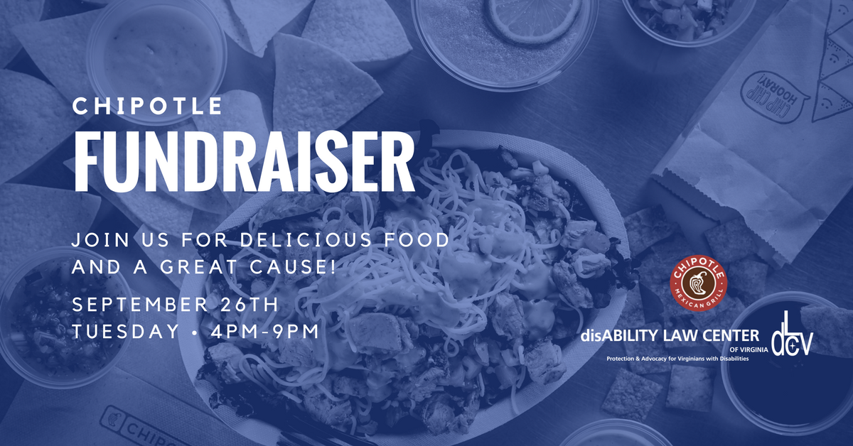 FACEBOOK Event- Chipotle Fundraising Poster